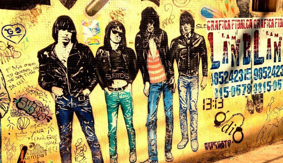 Ramones, van t-shirts tot Rock 'n Roll Highschool