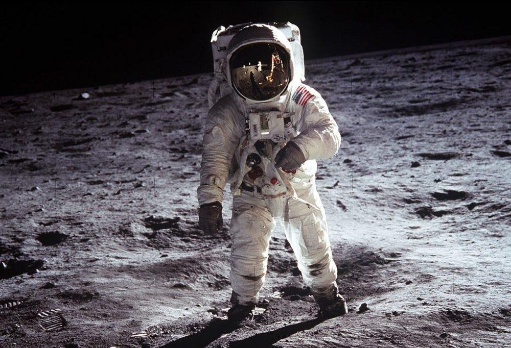 Vijftig jaar geleden: Maanlander Apollo 11 landt op de maan