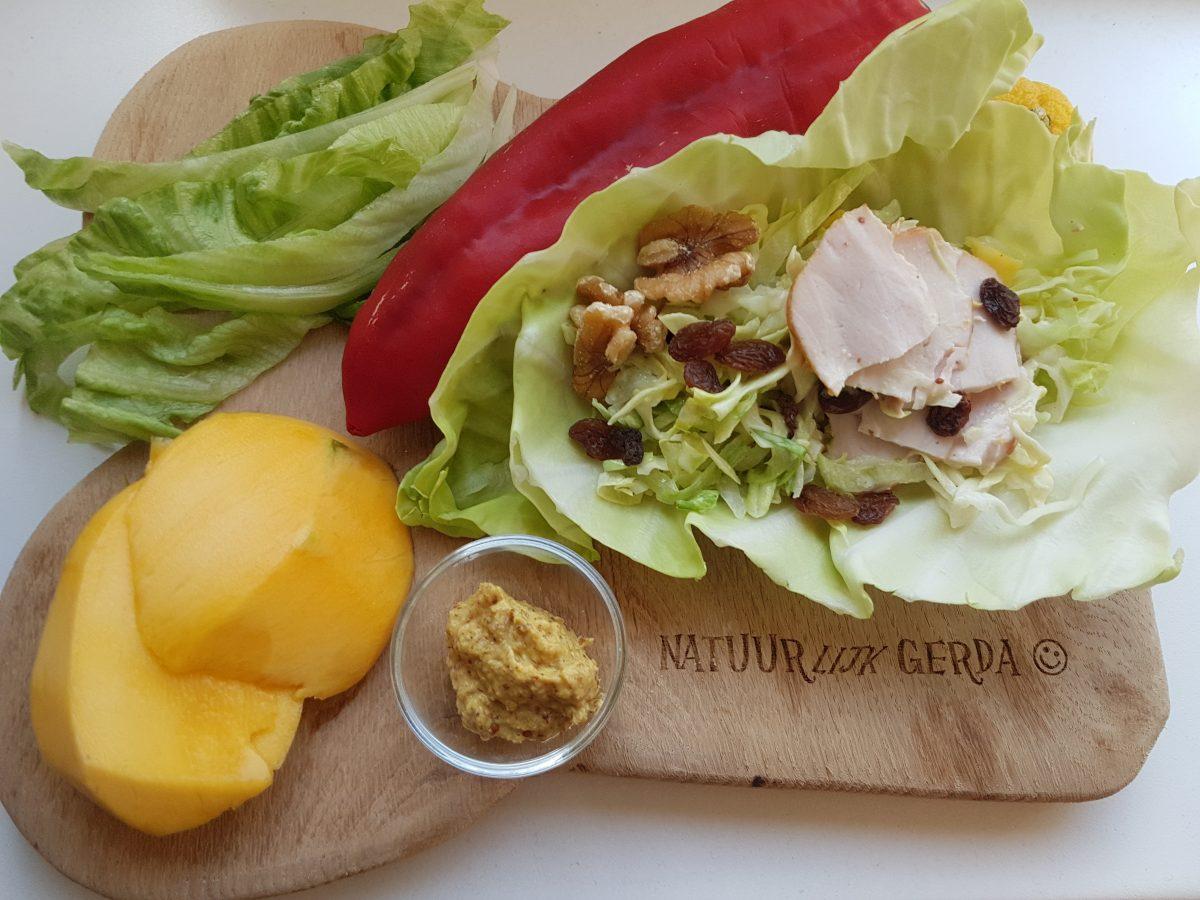 Gerda's Salade Driedaagse, dag 1: Koolsalade