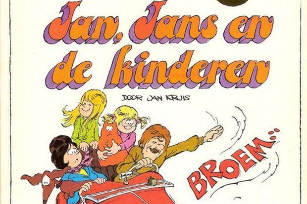 Jan, Jans en de kinderen in 1970 voor het eerst in de Libelle