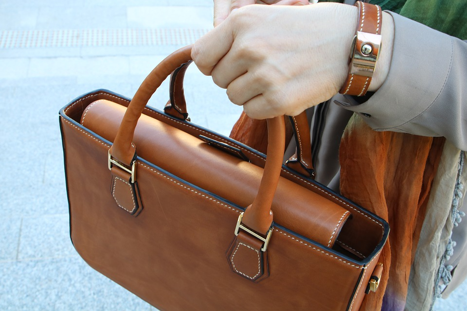 Een tas vertelt een verhaal