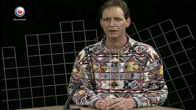 Piet Paulusma 25 jaar op televisie bij Omrop Fryslân