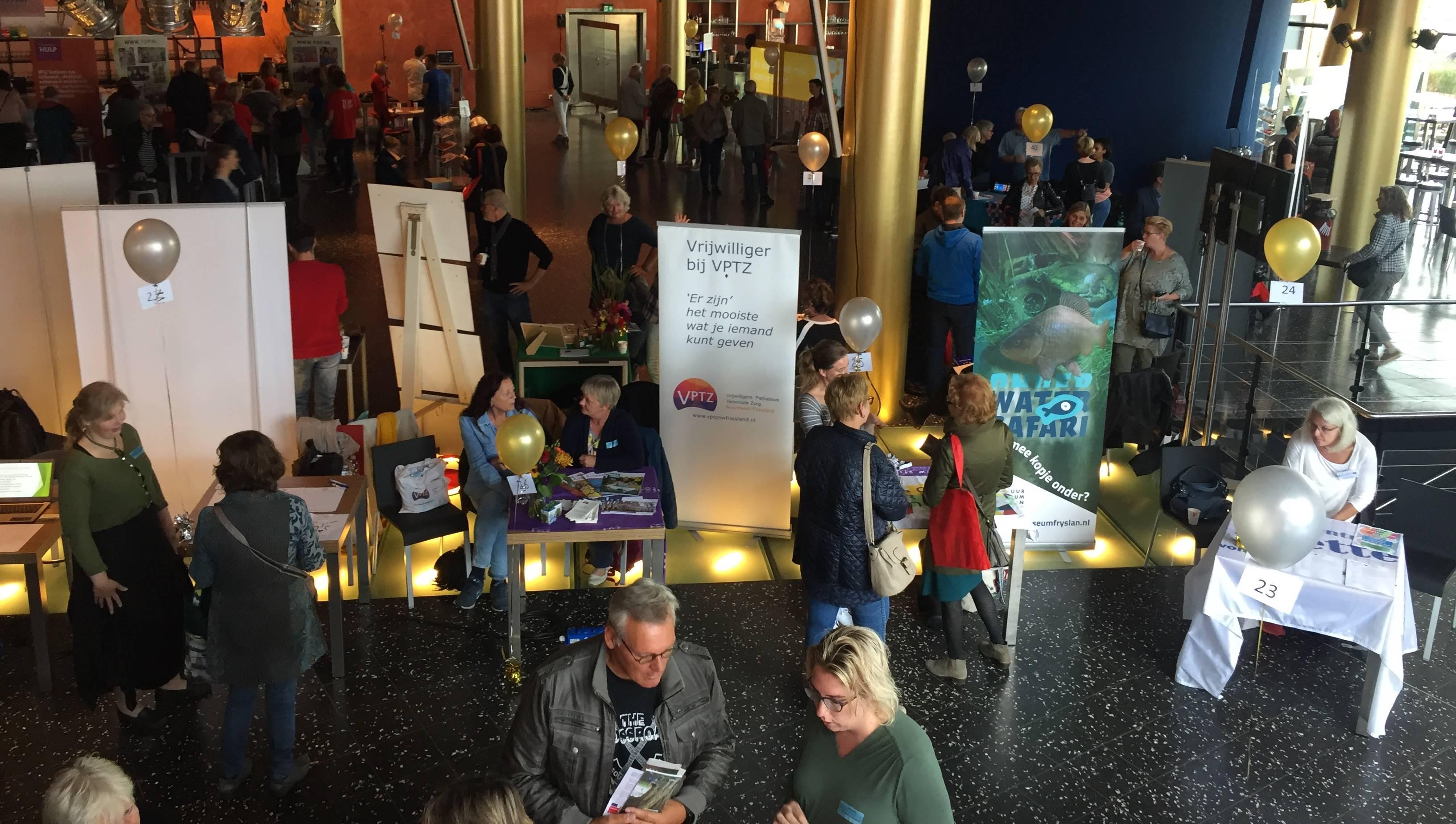 Beleef vrijwilligerswerk tijdens het Vrijwilligersfestival