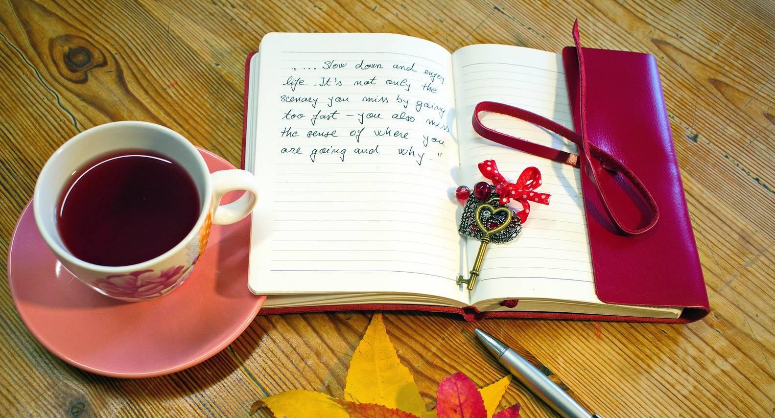 Rinnie's blog – een kijkje in haar dagboeken