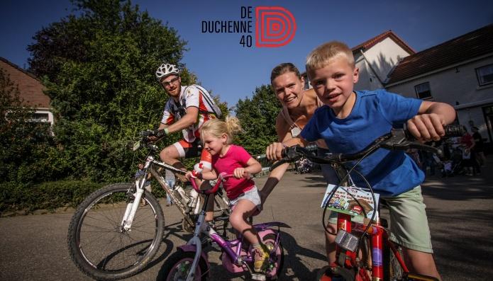 Fiets voor jongvolwassenen met Duchenne spierdystrofie